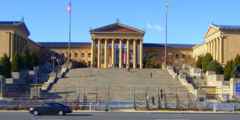philadelphia scalinata di rocky