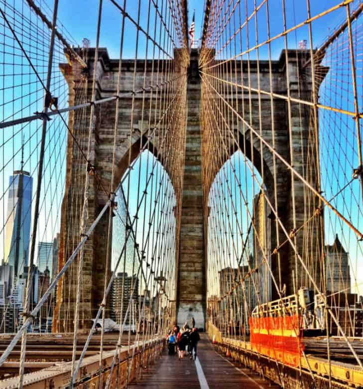 viaggio a new york ponte brooklyn