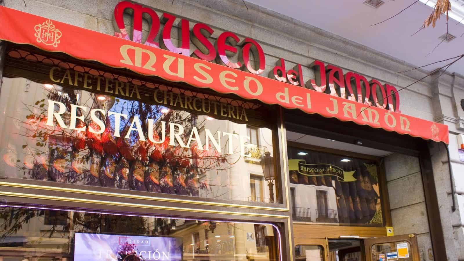 dove mangiare Madrid ristoranti