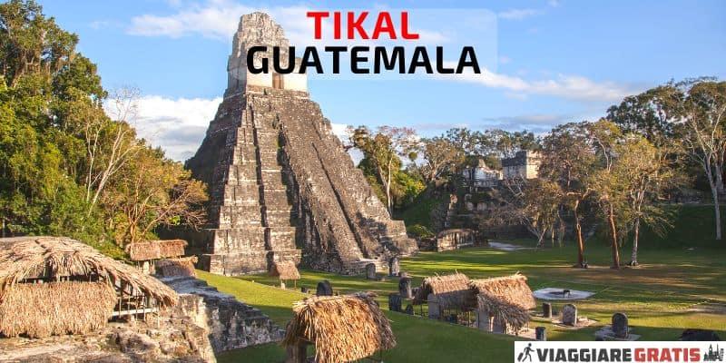 Tikal Maya mappa
