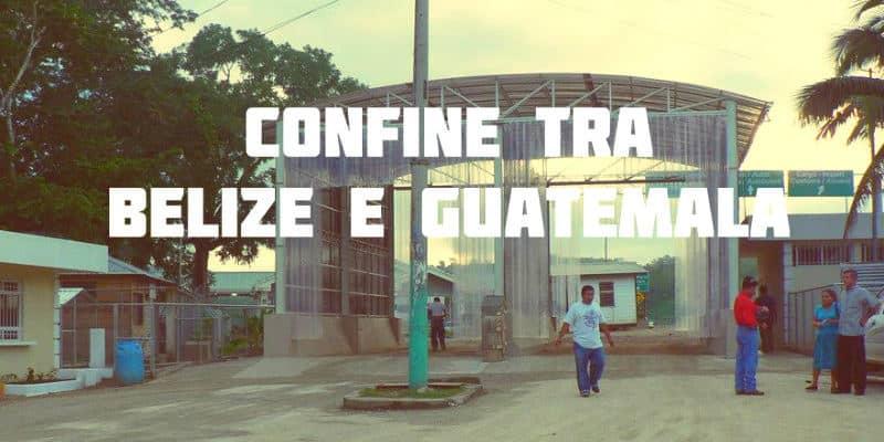 confine belize guatemala