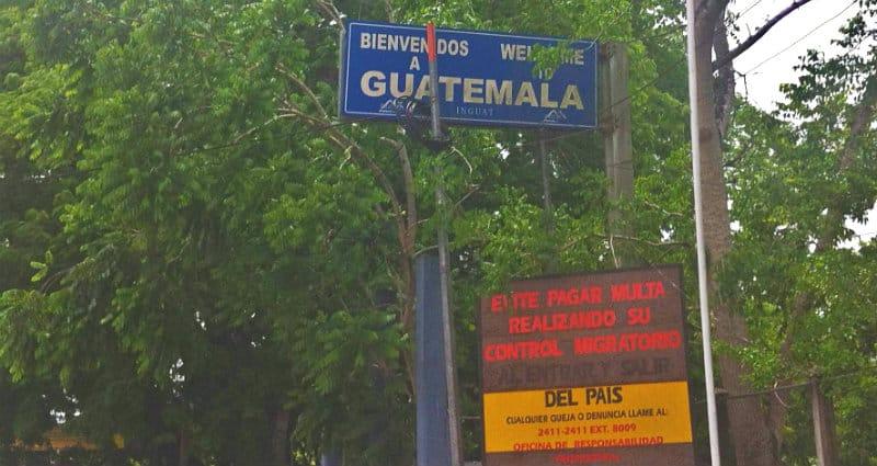 confine guatemala