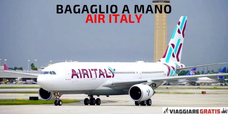 Air Italy Bagaglio a Mano Meridiana