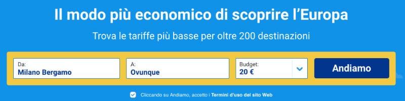 offerte Ryanair voli low cost