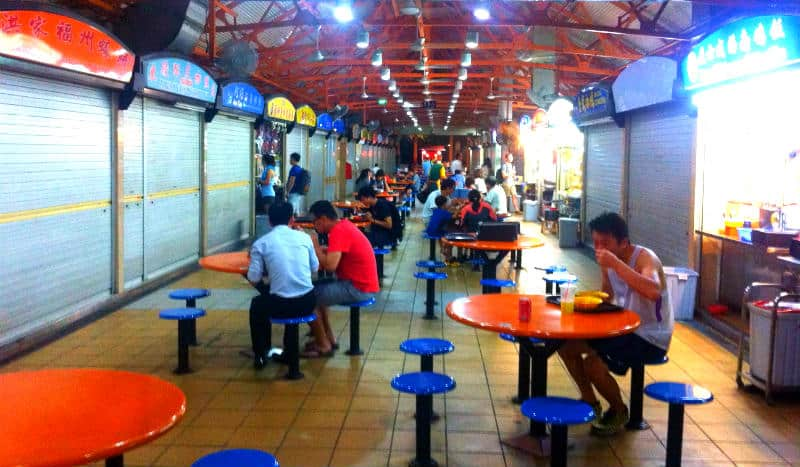 Hawker Centers Singapore
