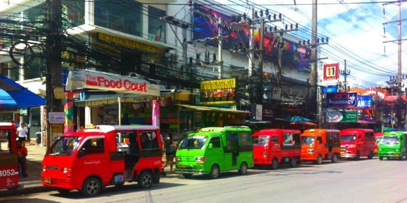 Tuk tuk thailandia phuket