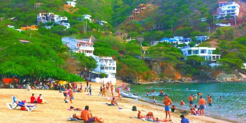 Taganga Spiaggia