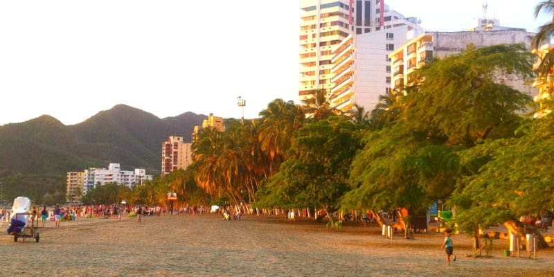 Rodadero Santa Marta