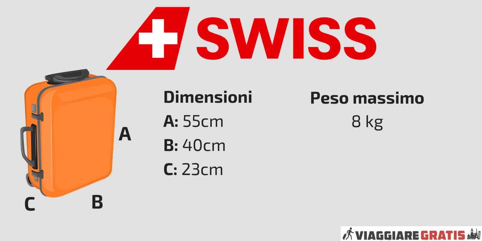 Bagaglio a Mano Swiss Air