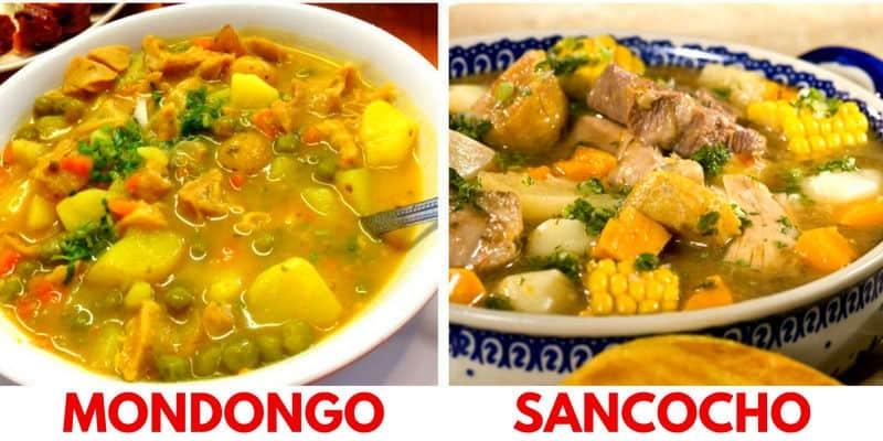 mondongo sancocho piatti tipici colombiani