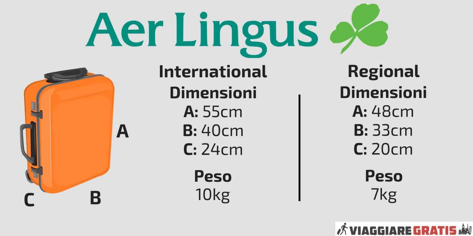 Bagaglio a Mano Aer Lingus