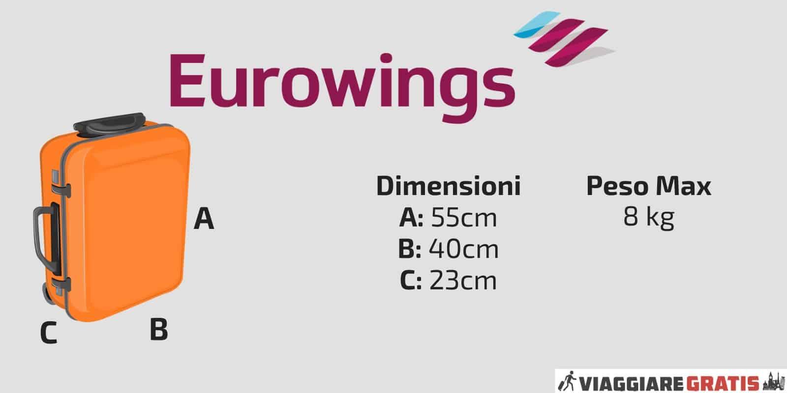 Bagaglio a Mano Eurowings Germanwings