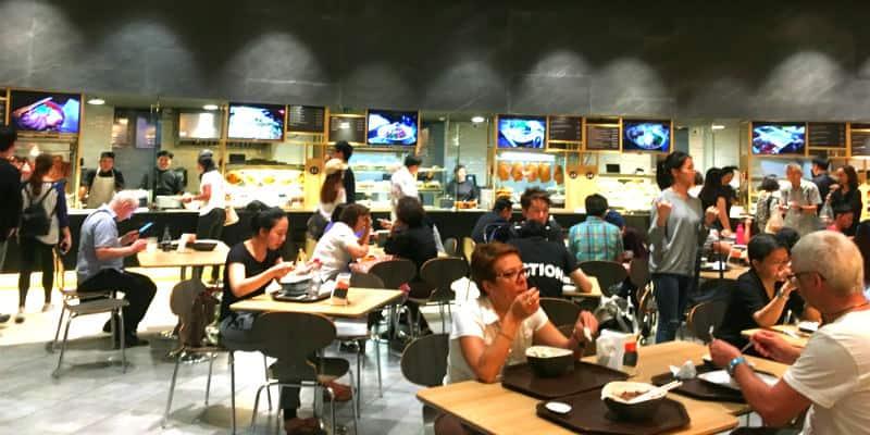 Food Court Bangkok Siam Paragon