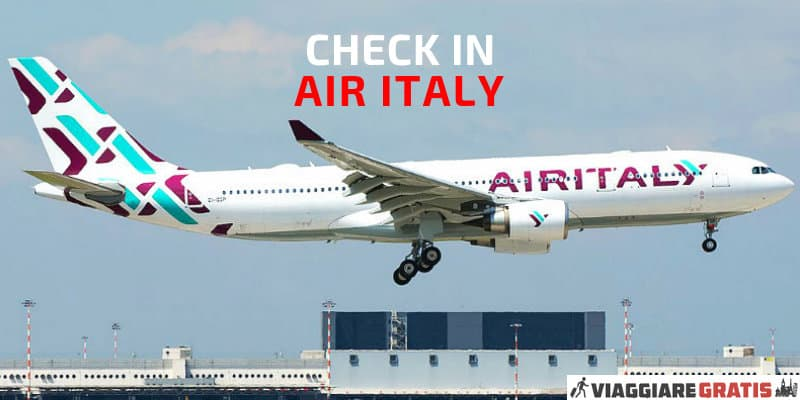 check in online air italy meridiana