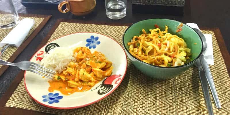 piatti scuola cucina thailandese chiang mai