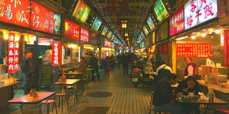 viaggio a taiwan mercati notturni
