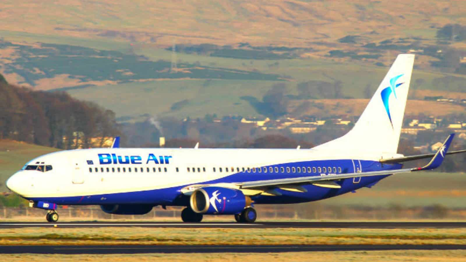 Check-in Blue Air