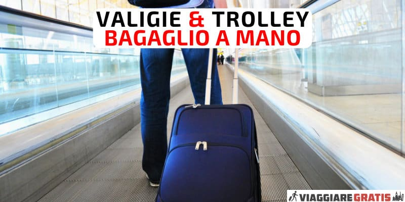 trolley bagaglio a mano