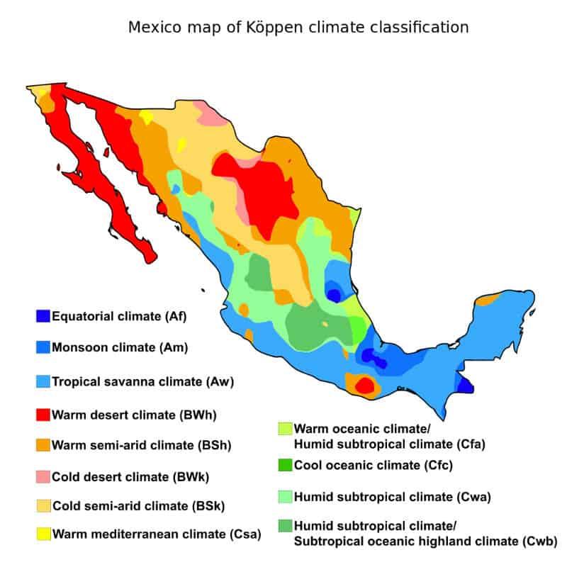 Clima Meteo in Messico quando andare