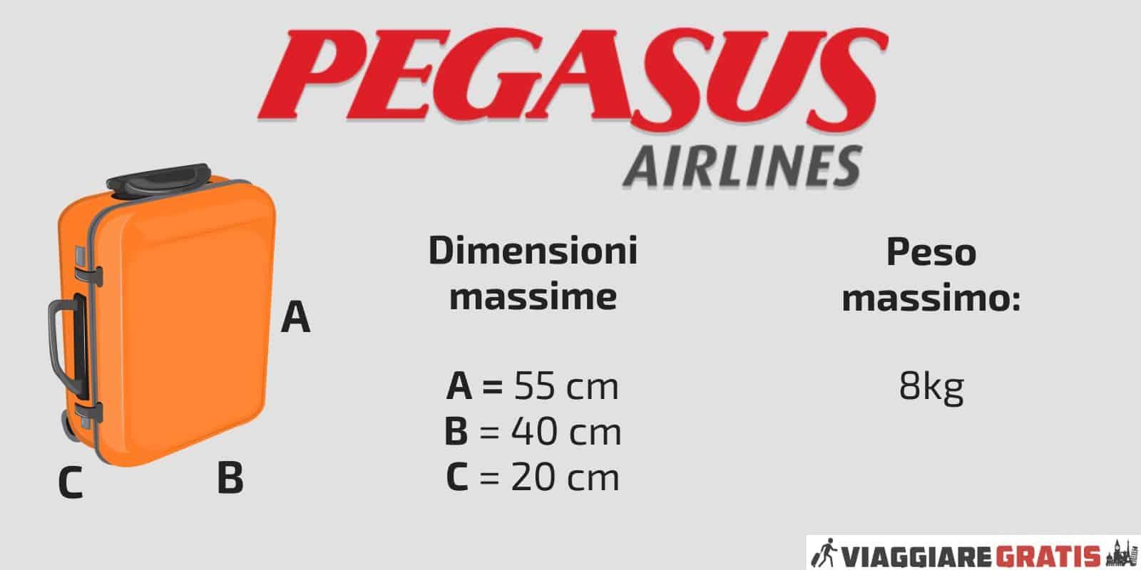 Bagaglio a mano Pegasus Airlines