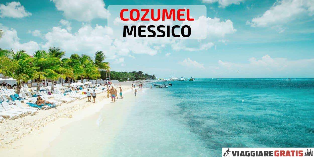 Isola Cozumel Messico cosa vedere