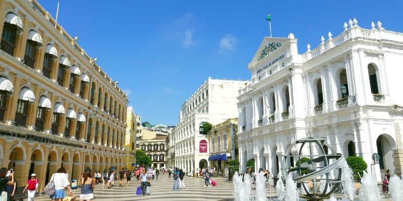 Senado Square Viaggio a Macao