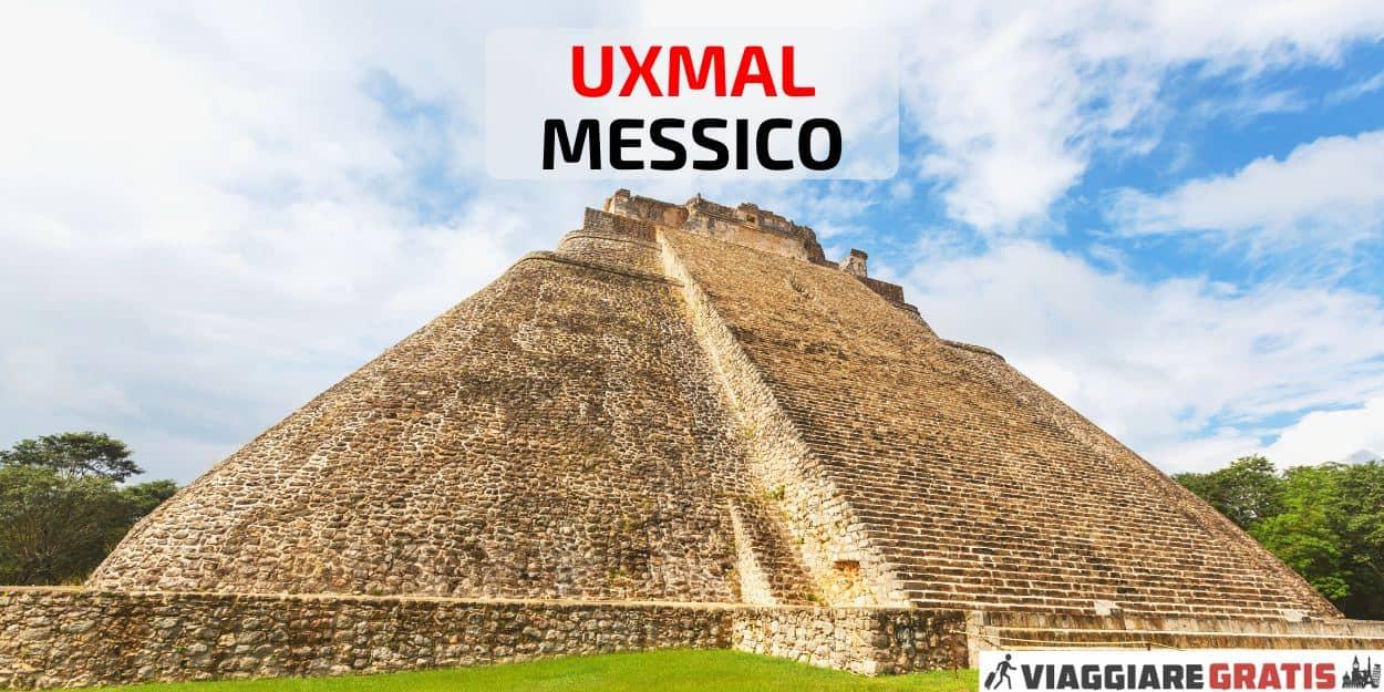 Uxmal Piramide Yucatan