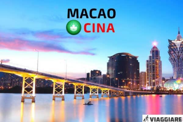 Visitare Macao Cina