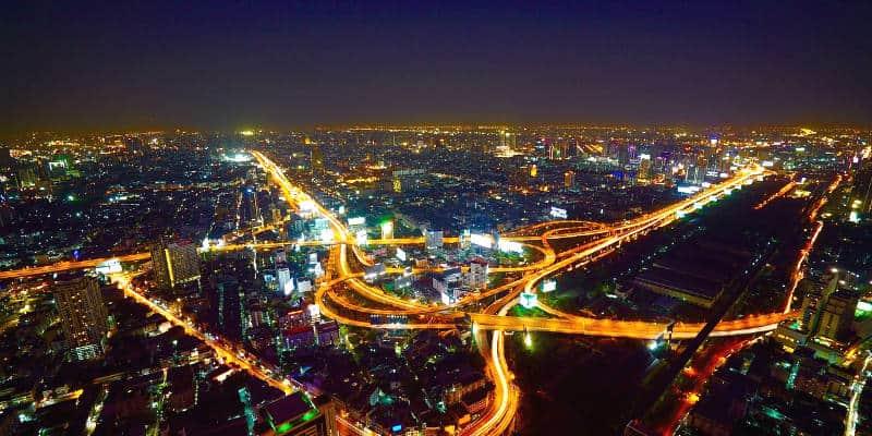 capitale della Thailandia Bangkok