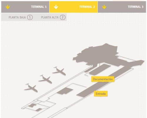 cancun aeroporto internazionale Terminal 2