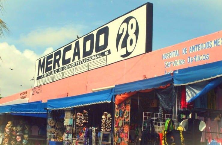 mercado 28 cancun