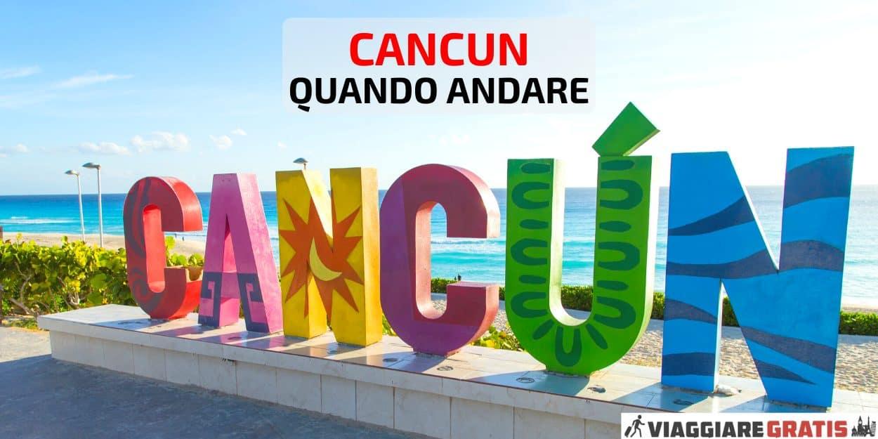 Meteo quando andare a Cancun