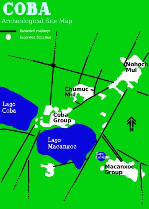 Mappa Coba