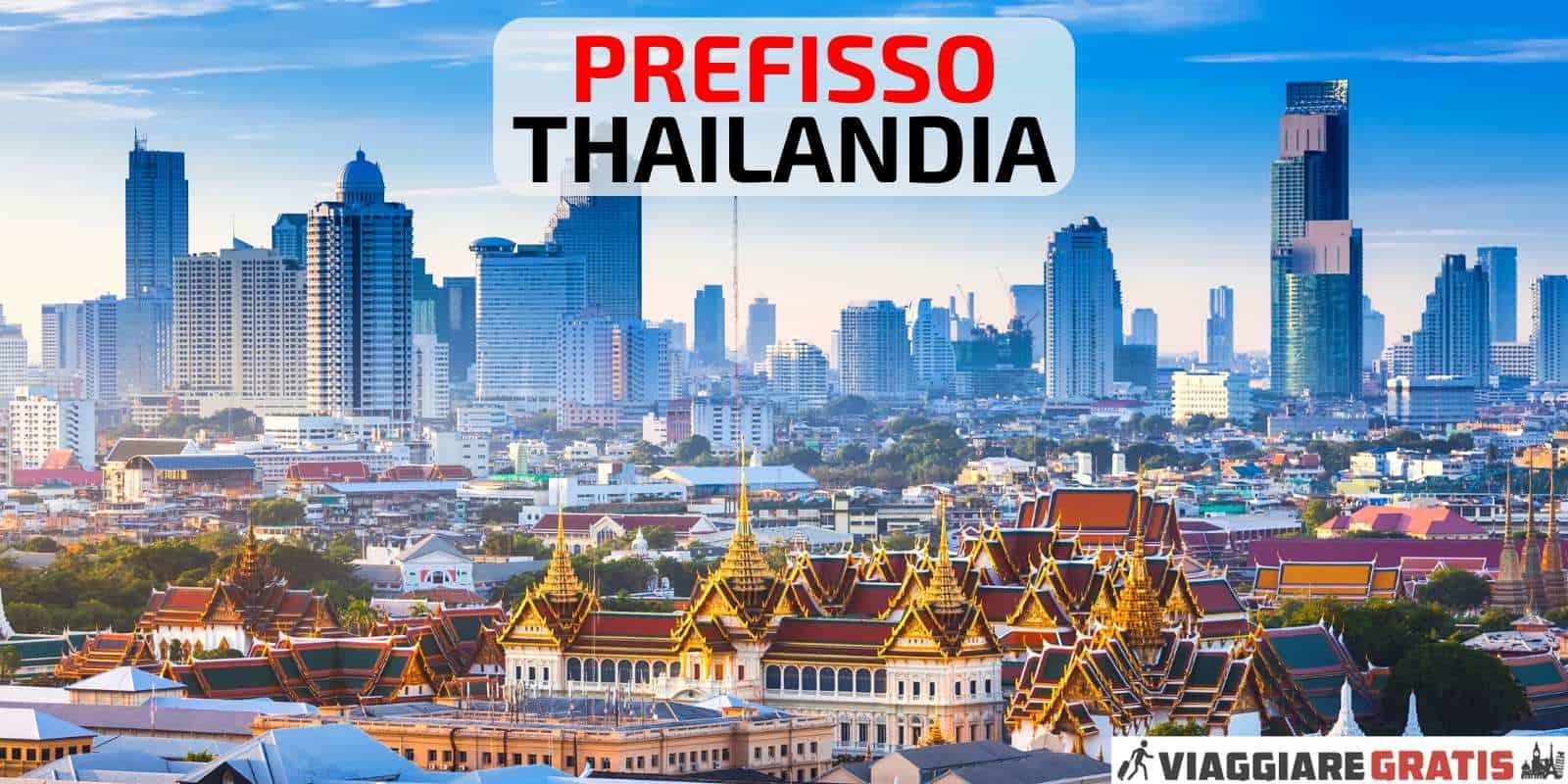 Prefisso della Thailandia
