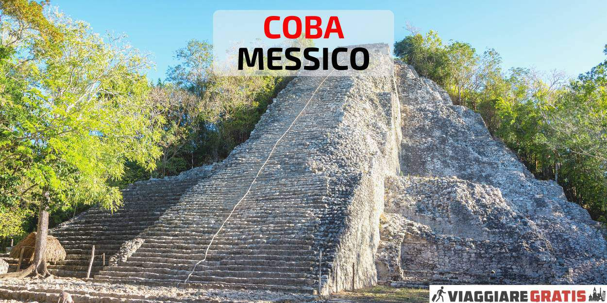 piramidi rovine Maya Coba Messico