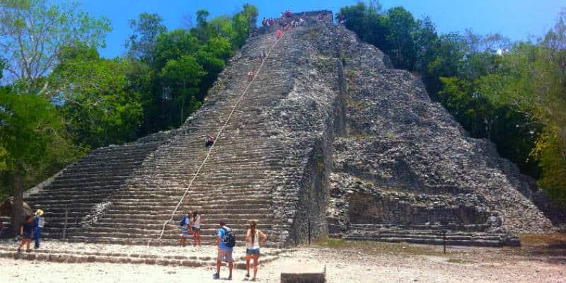 rovine maya coba