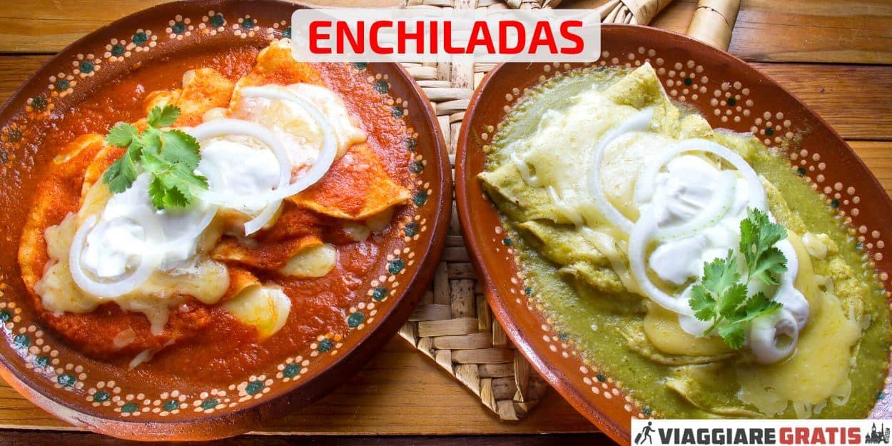 ricetta enchiladas messicane pollo