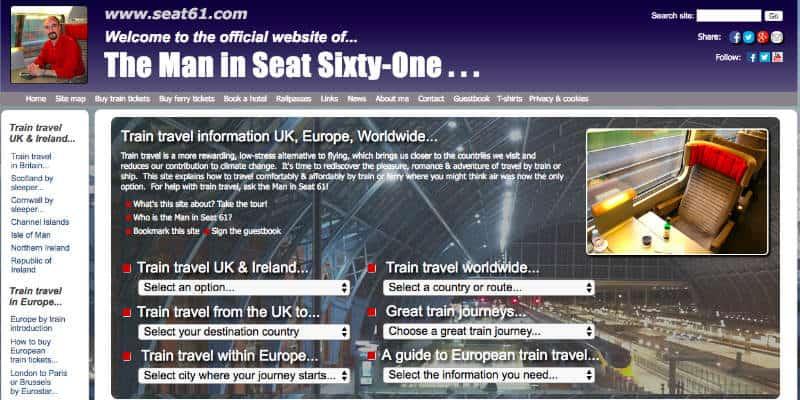 siti viaggi seat61