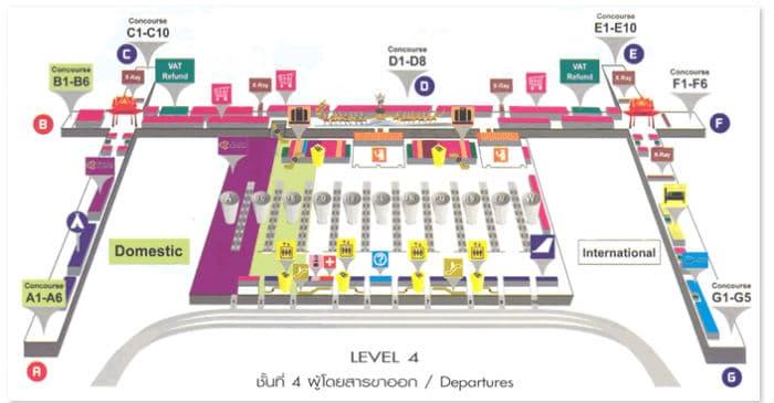 Bangkok aeroporto partenze