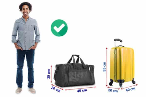 ryanair bagaglio a mano misure 2019