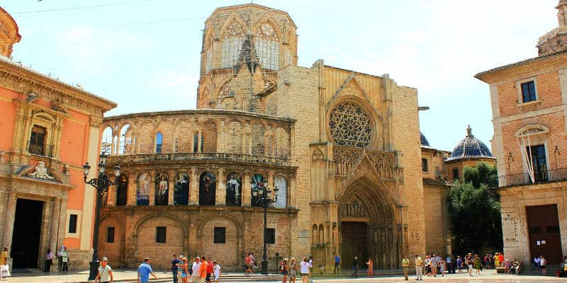 luoghi di interesse valencia cattedrale