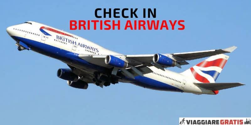 check in british airways