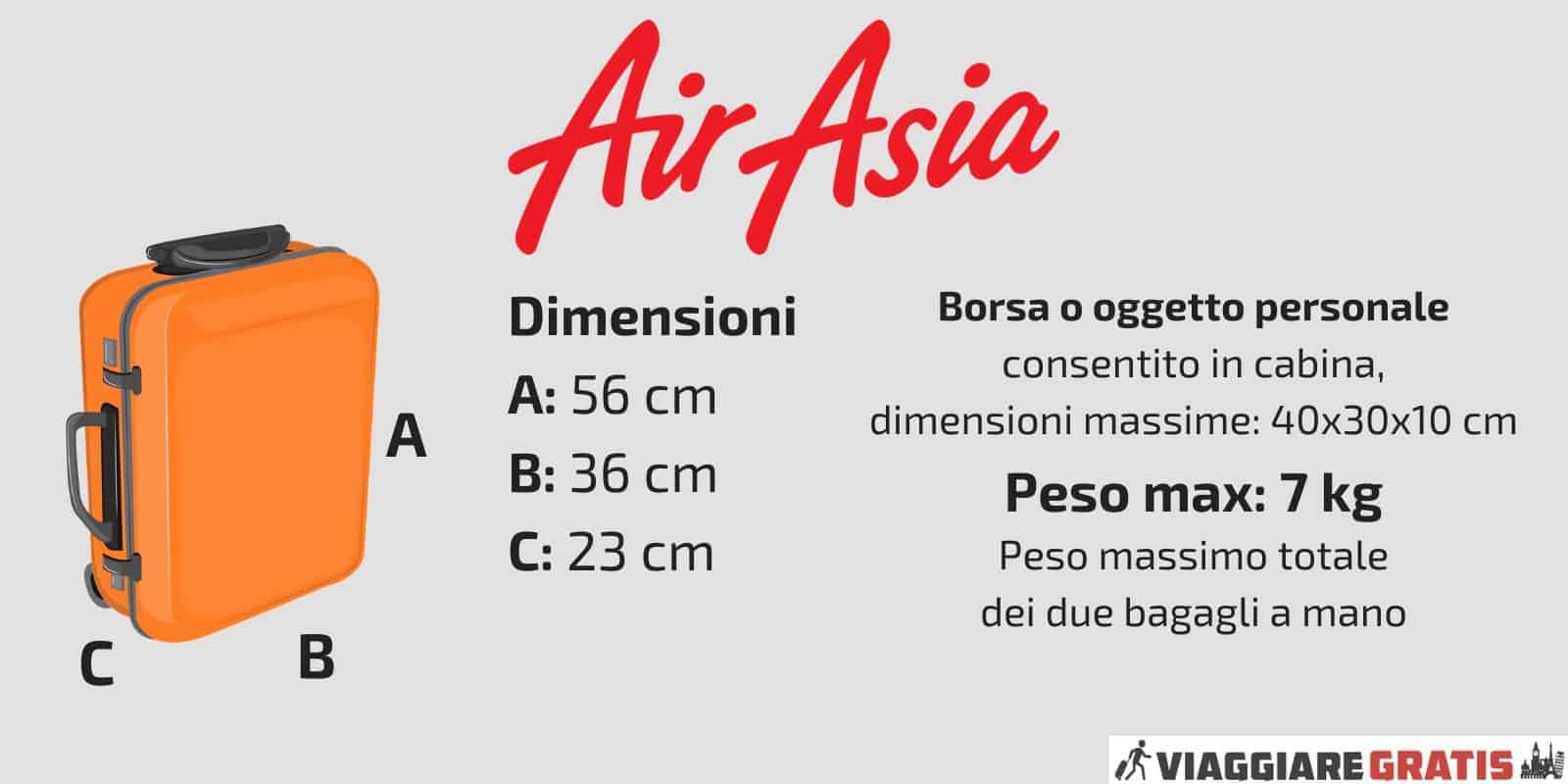 Bagaglio a Mano Air Asia