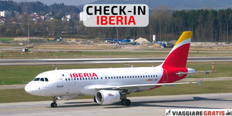 check-in online Iberia