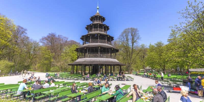 Cosa fare a Monaco di Baviera Englischer Garten