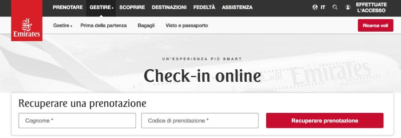 emirates check in online