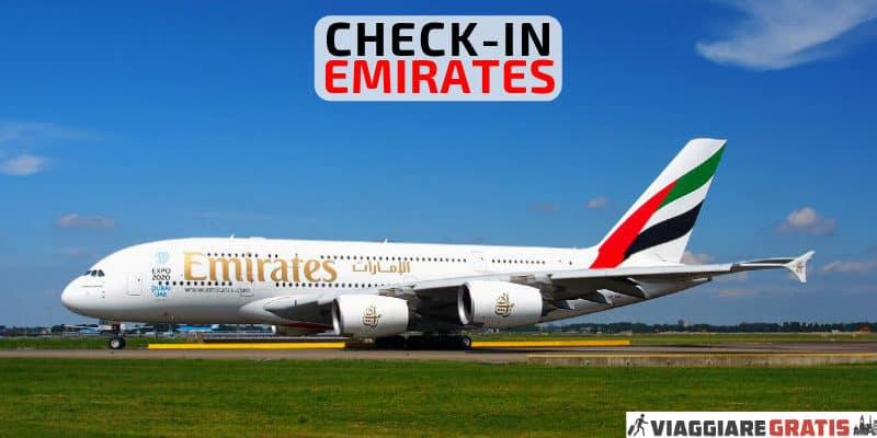 web check-in Emirates
