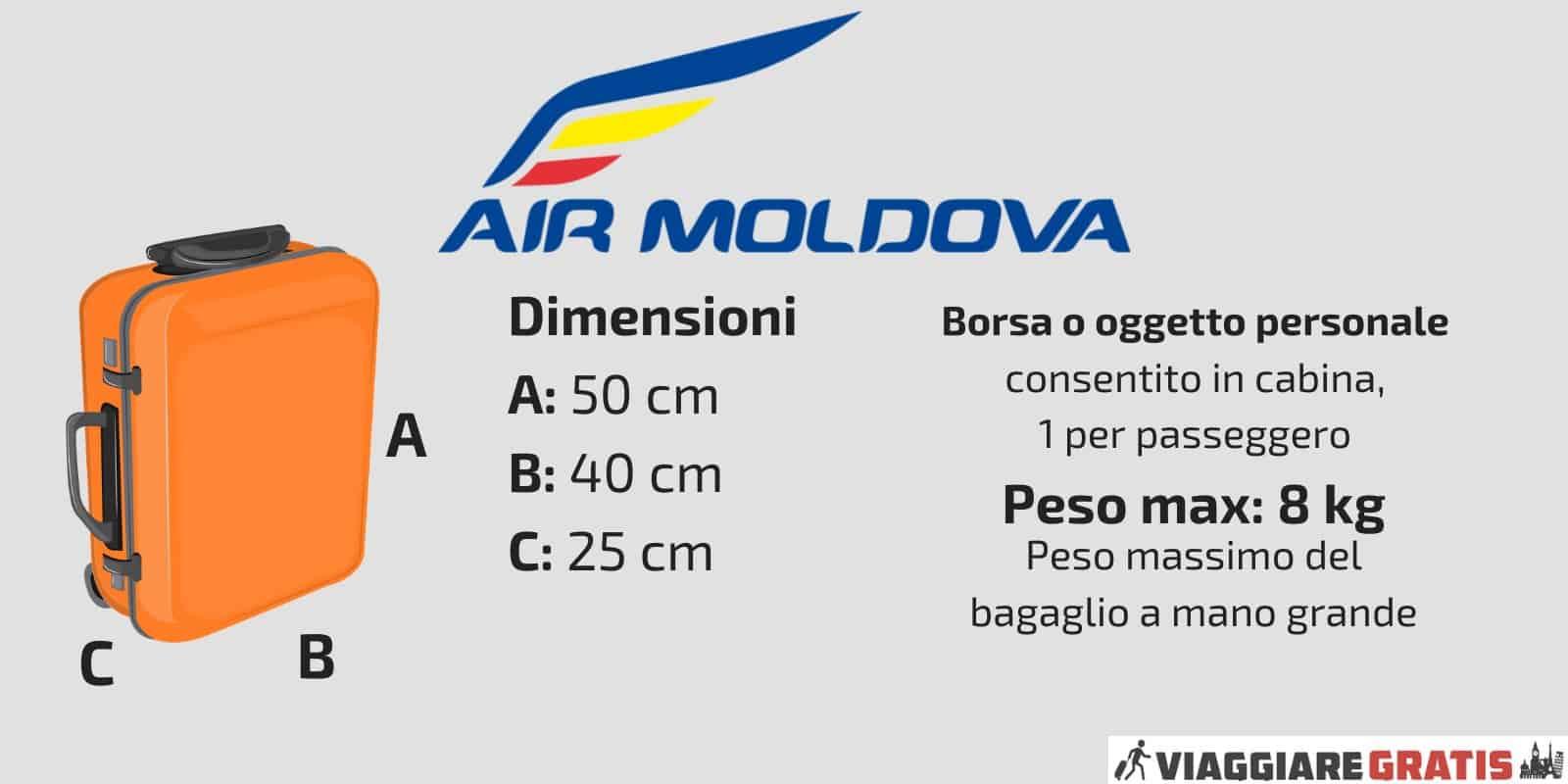 Bagaglio a Mano Air Moldova
