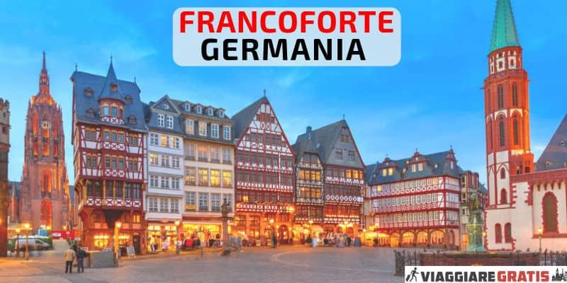 Cosa Vedere a Francoforte Germania