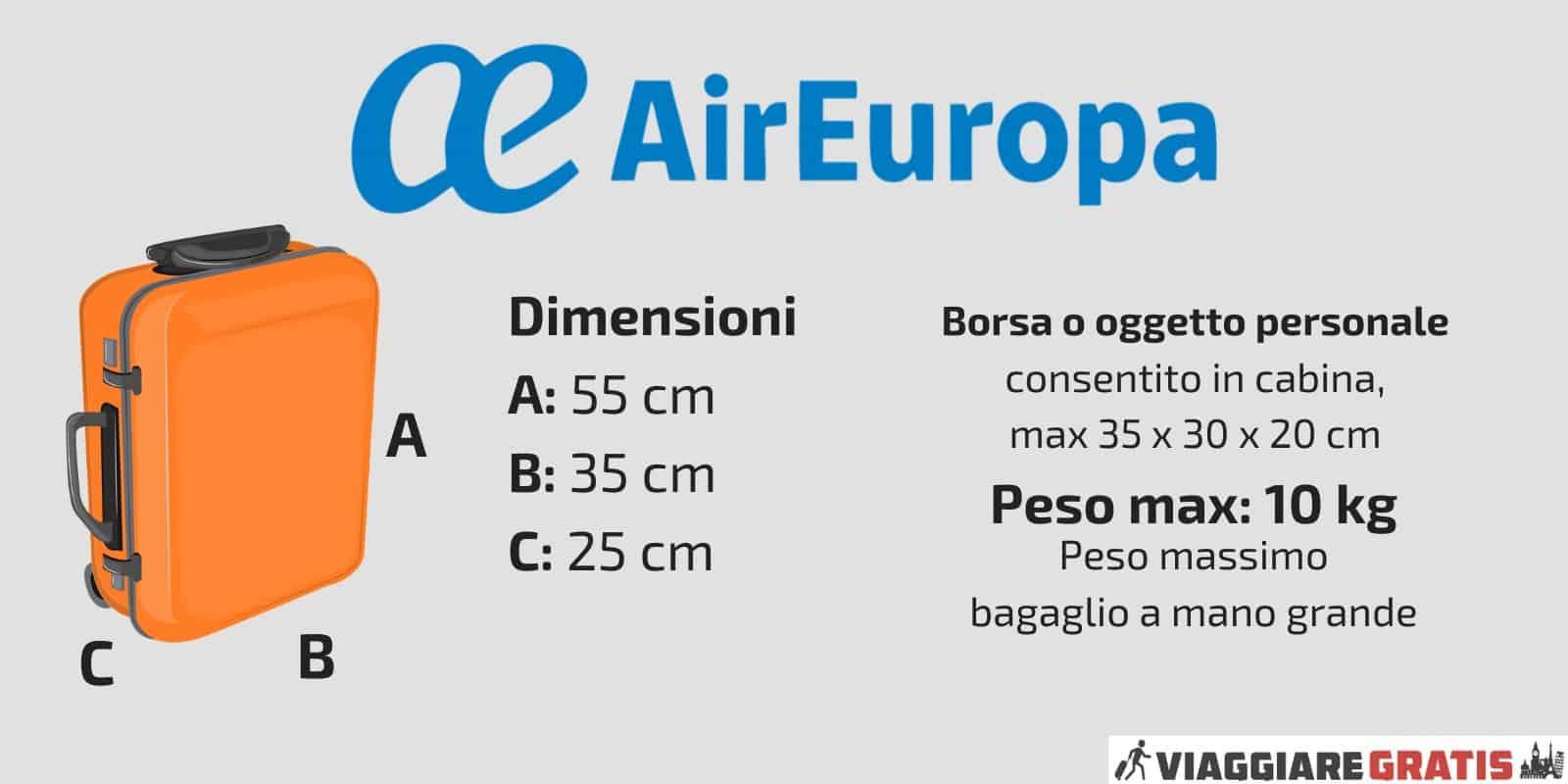 Bagaglio a Mano Air Europa
